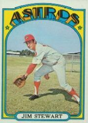 1972 Topps Baseball Cards      747     Jim Stewart